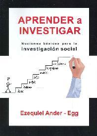 Aprender a Investigar