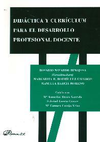 Didáctica y Currículun para el Desarollo Profesional  Docente