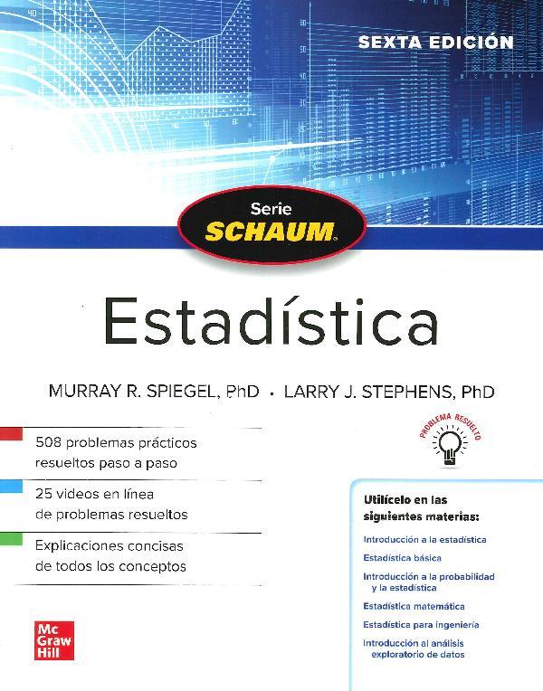 Estadística Schaum