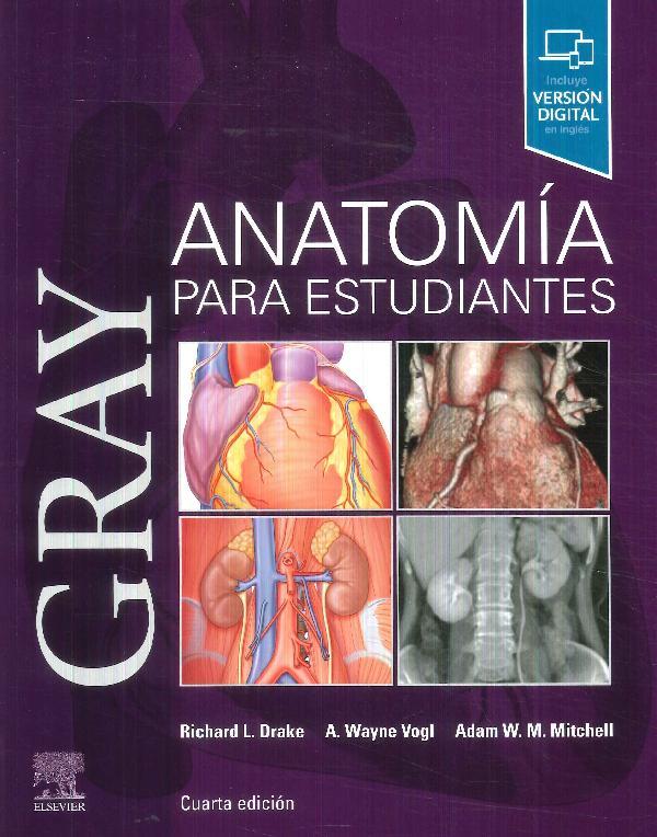 Anatomía para estudiantes GRAY
