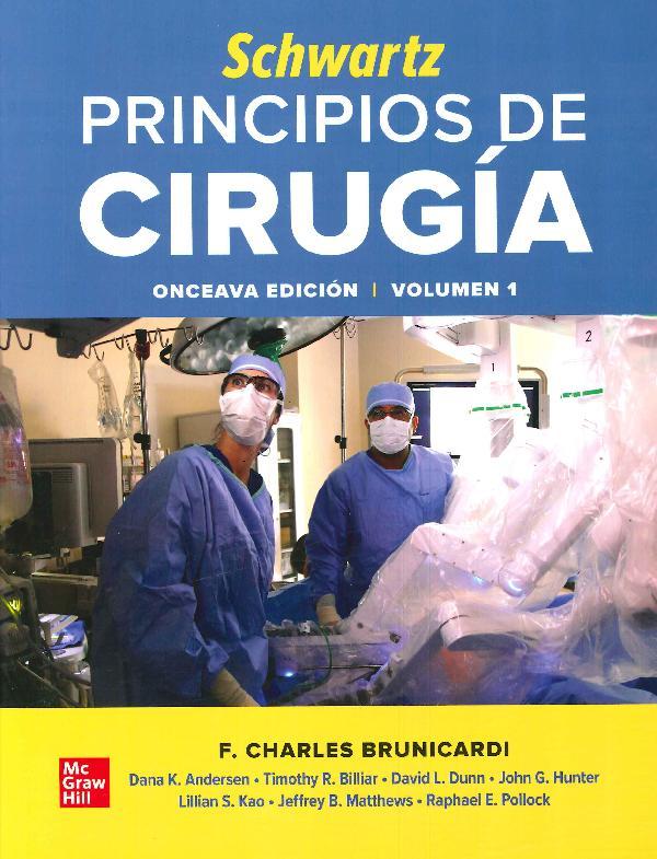 Schwartz Principios de Cirugía - 2 Tomos