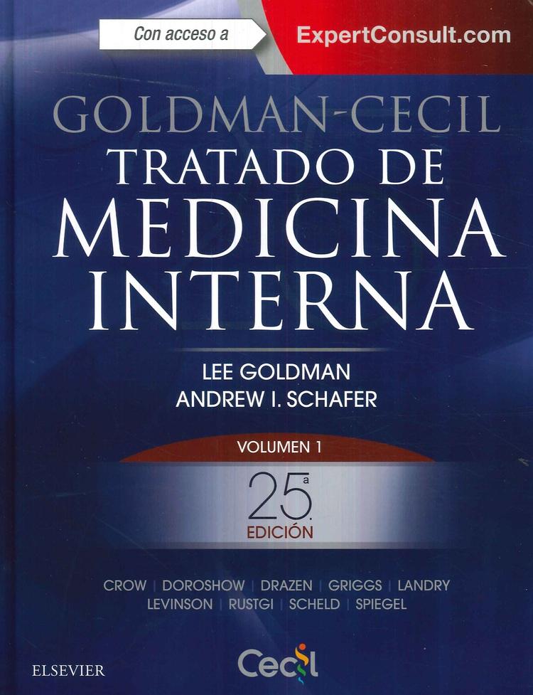 Tratado de Medicina Interna Goldman  Cecil   2 Tomos
