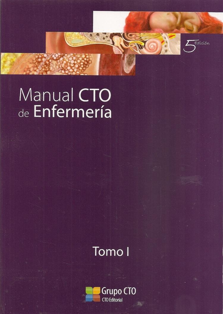 Manual CTO de enfermería 3 Tomos CTO