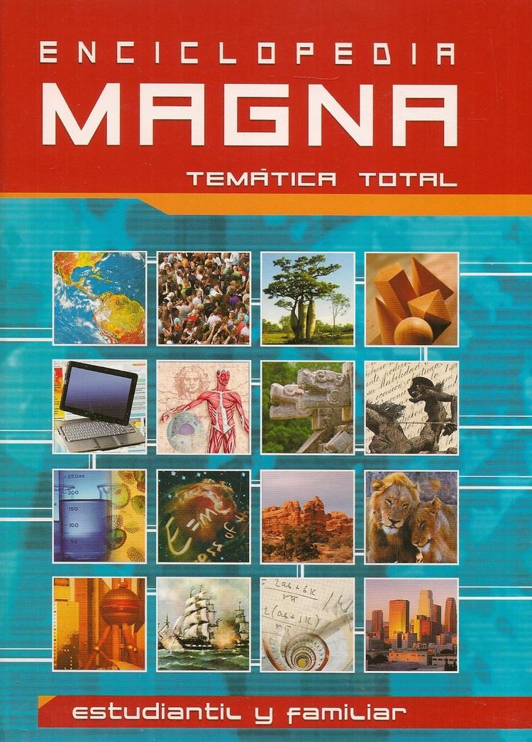 Enciclopedia Magna Tematica Total 6 Tomos