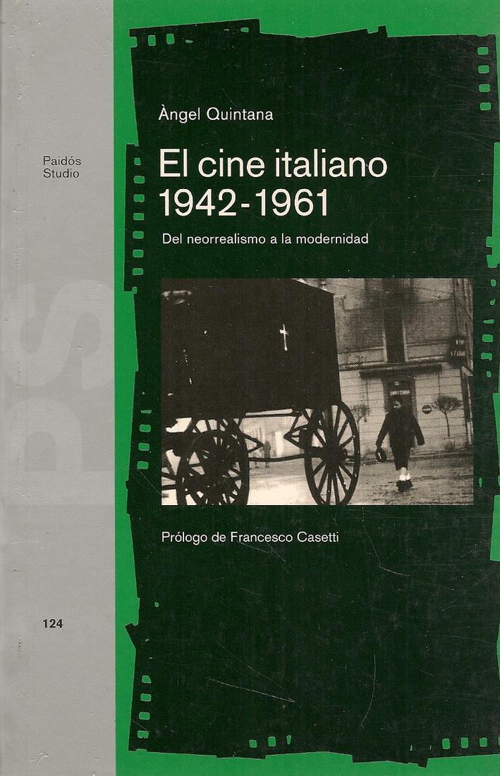 El cine italiano, 1942-1961 : del neorrealismo a la modernidad | Ediciones  Técnicas Paraguayas