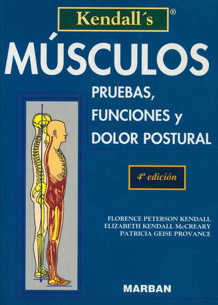 Musculos, pruebas funciones y dolor muscular Kendall´s