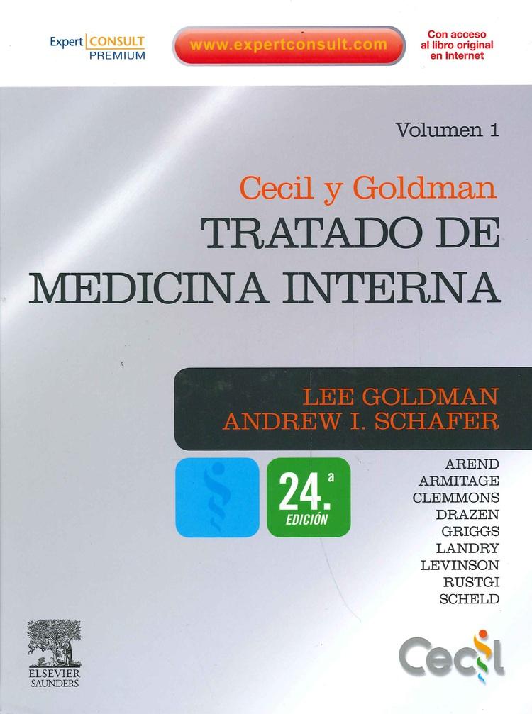 Cecil y Goldman Tratado de Medicina Interna 2 Tomos 24 Ed