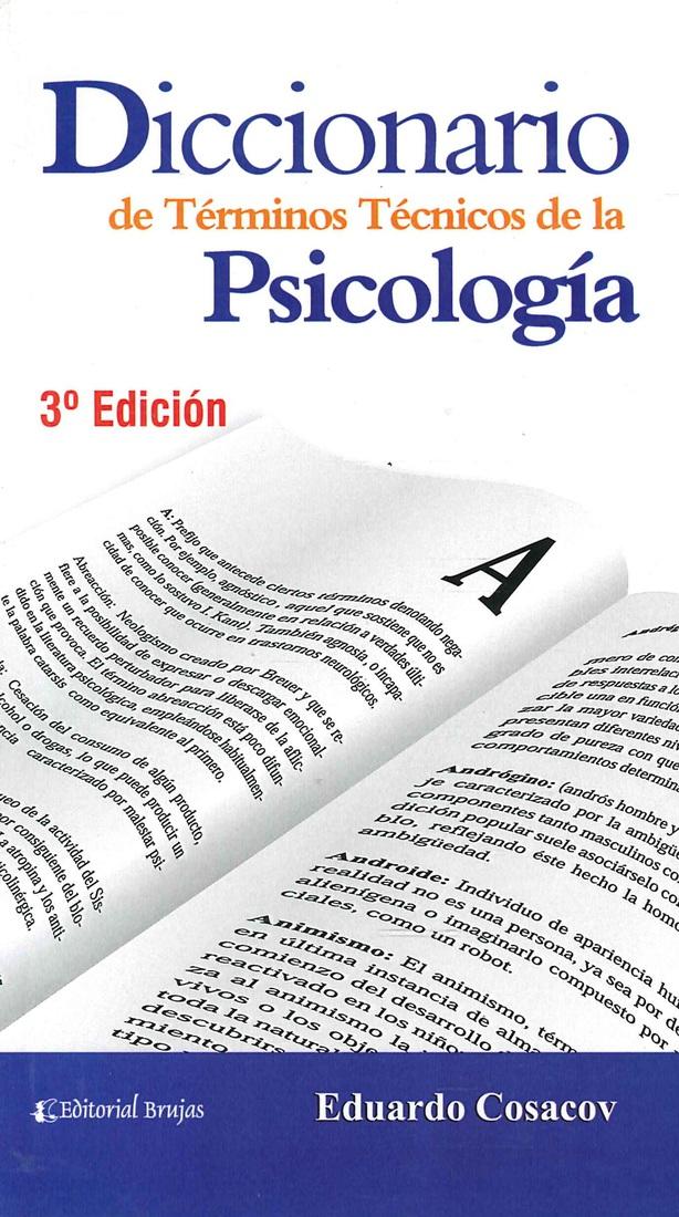 Diccionario de Términos Técnicos de la Psicología