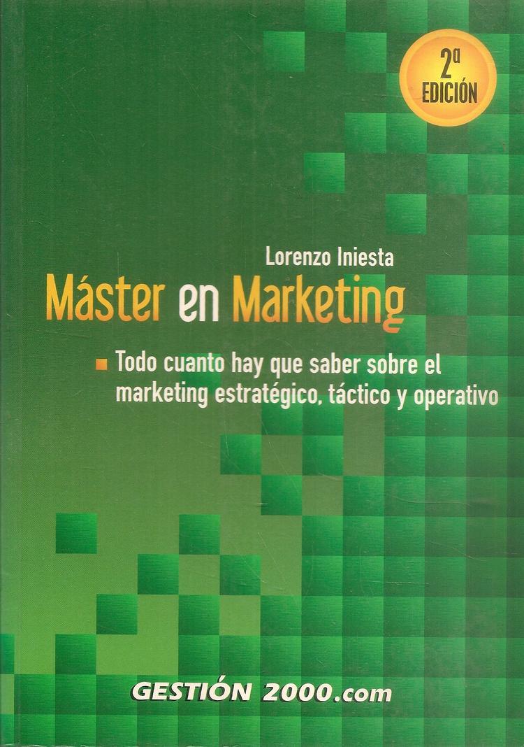 Master en Marketing Iniesta